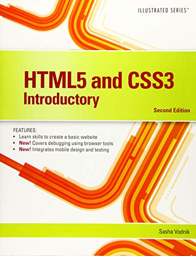 9781305394056: HTML5 and CSS3, Illustrated Introductory (Illustrated Series)