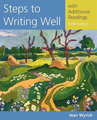 9781305394216: Steps to Writing Well with Additional Readings (Wyrick's Steps to Writing Well Series)