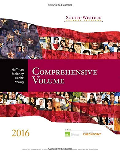 9781305395114: South-Western Federal Taxation 2016: Comprehensive Volume