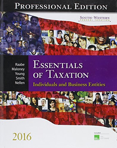 Essentials of Taxation: Individuals and Business Entities (Hardback): William A Rabe, David M ...
