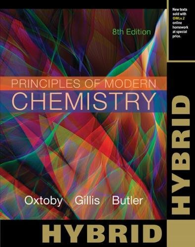 9781305395893: Principles of Modern Chemistry: Hybrid Edition