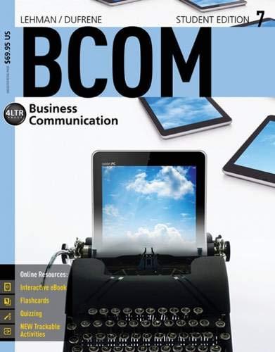Bcom 7: Carol M. Lehman;