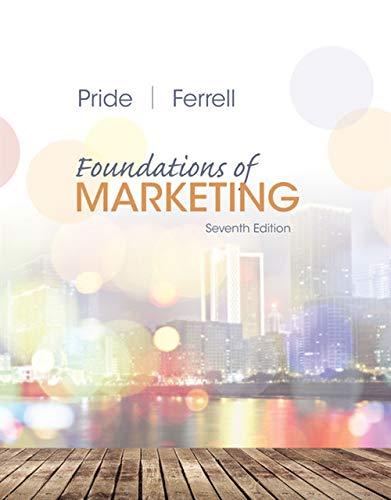 9781305405769: Foundations of Marketing