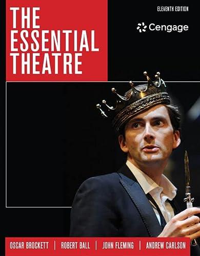 9781305411074: The Essential Theatre
