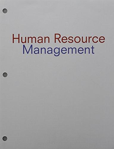 Robert mathis abebooks bundle human resource management loose leaf version 14th robert l fandeluxe Gallery