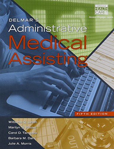 9781305414495: Bundle: Delmar's Administrative Medical Assisting (with Premium Website, 2 terms (12 months) Printed Access Card and Medical Office Simulation ... 2 term (12 months) Printed Access Card