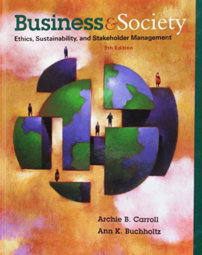 9781305415539: Bundle: Business and Society: Ethics, Sustainability, and Stakeholder Management, 9th + CourseMate Access Code