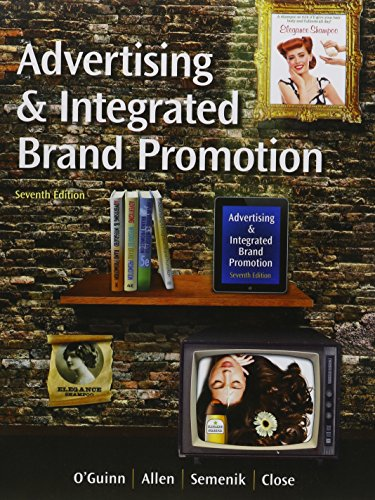 9781305424333: Bundle: Advertising and Integrated Brand Promotion (with CourseMate, with Ad Age Printed Access Card), 7th + LMS Integrated for MindTap Marketing, 1 term (6 months) Printed Access Card