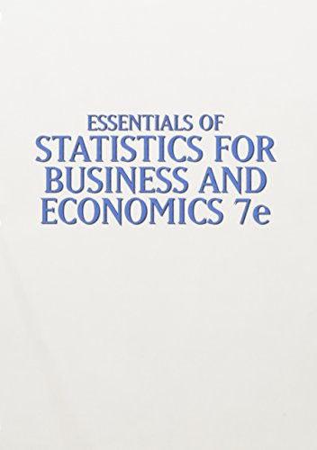 9781305424616: Bundle: Essentials of Statistics for Business and Economics, 7th + LMS Integrated for CengageNOW™, 1 term Printed Access Card for Business and Economics
