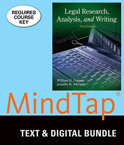 9781305428676: Bundle: Legal Research, Analysis, and Writing, 3rd + LMS Integrated for MindTap Paralegal, 1 term (6 months) Access Code