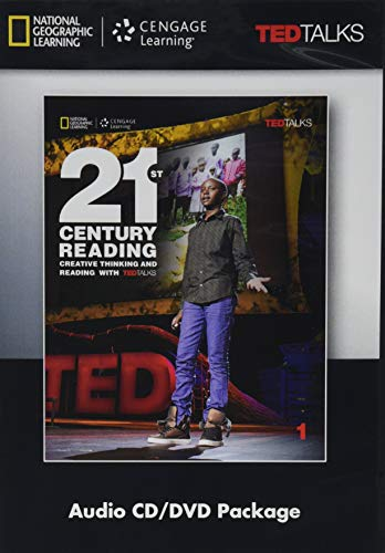 9781305495470: 21st Century Reading with TED Talks Level 1 Audio CD & DVD Package