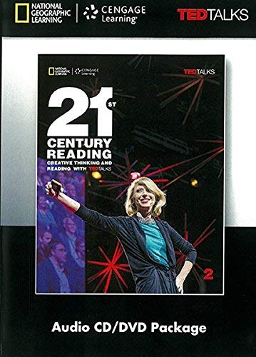 9781305495487: 21st Century Reading with TED Talks Level 2 Audio CD & DVD Package