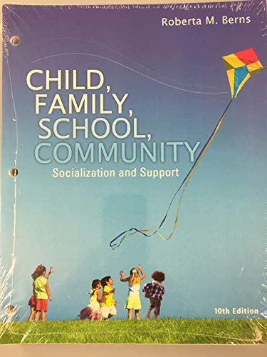 9781305496002: Child, Family, School, Community: Socialization and Support