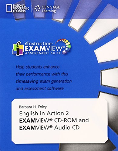 9781305496798: English in Action 2 Examview C