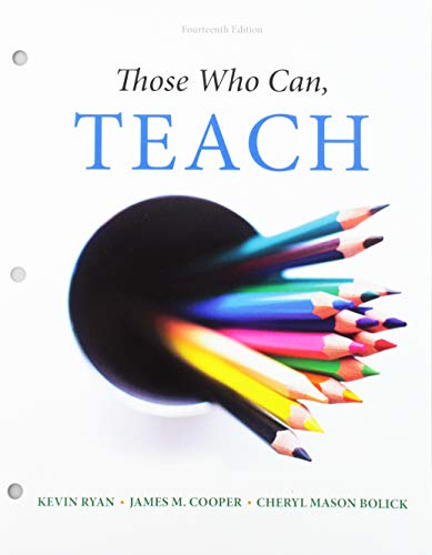 9781305496866: Those Who Can, Teach