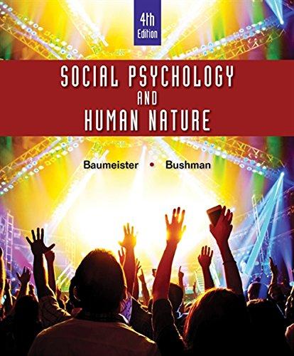 9781305497917: Social Psychology and Human Nature, Comprehensive Edition (MindTap for Psychology)