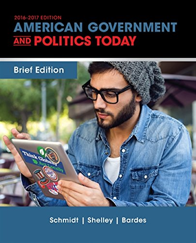 9781305499041: Cengage Advantage Books: American Government and Politics Today, Brief Edition