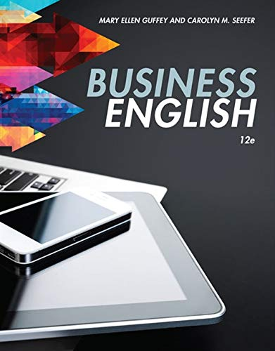 9781305499867: Business English (MindTap Course List)