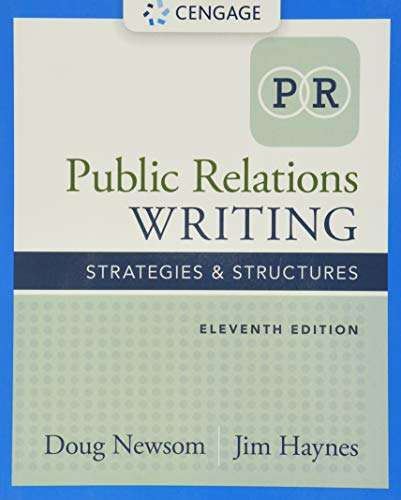 9781305500006: Public Relations Writing: Strategies & Structures