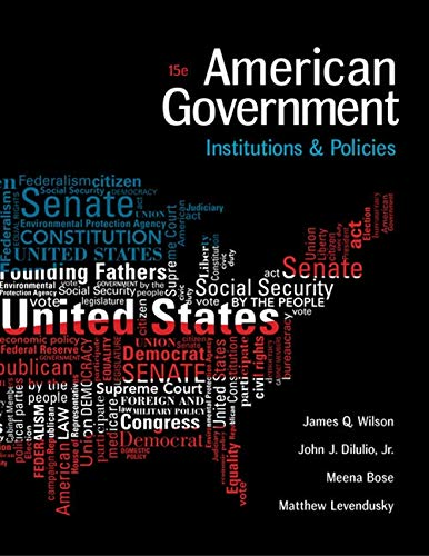 9781305500051: American Government: Institutions and Policies (I Vote for MindTap)