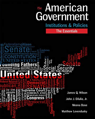 american government institutions and policies pdf
