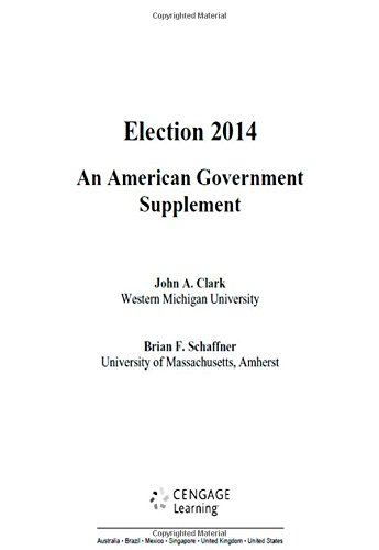 9781305500181: Election 2014: An American Government Supplement, 1st