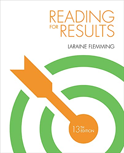 Reading for Results, by Flemming, 13th Edition: Flemming, Laraine E.