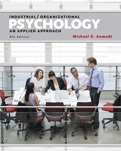 9781305500761: I/O Applications WB Industrial/Organizational Psychology