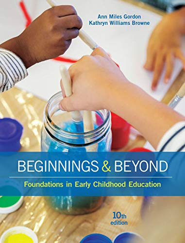 9781305500969: Beginnings & Beyond: Foundations in Early Childhood Education