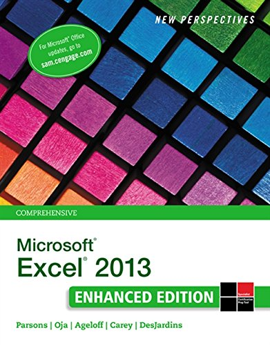 9781305501126: New Perspectives on Microsoft Excel 2013, Comprehensive Enhanced Edition (Microsoft Office 2013 Enhanced Editions)