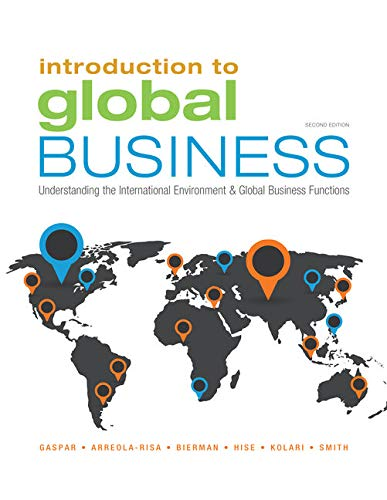 9781305501188: Introduction to Global Business: Understanding the International Environment & Global Business Functions