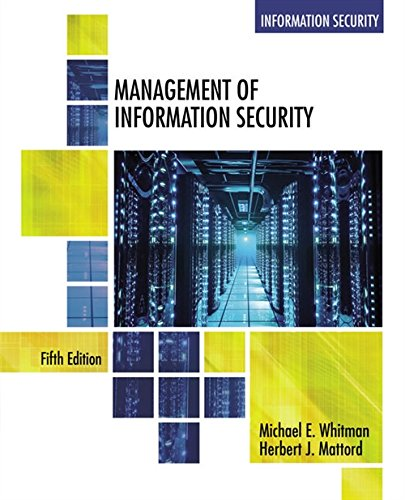 9781305501256: Management of Information Security