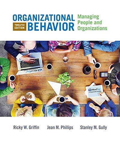 9781305501393: Organizational Behavior: Managing People and Organizations