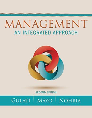 9781305502086: Management: An Integrated Approach