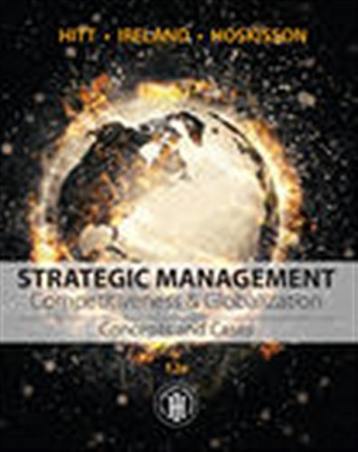 9781305502147: Strategic Management: Concepts and Cases: Competitiveness and Globalization