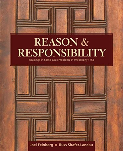 9781305502444: Reason and Responsibility: Readings in Some Basic Problems of Philosophy