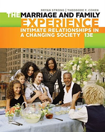 9781305503106: The Marriage and Family Experience: Intimate Relationships in a Changing Society