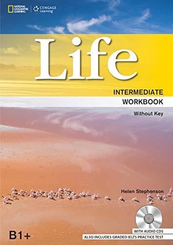 9781305503168: Life Intermediate: Workbook without Key plus Audio CD