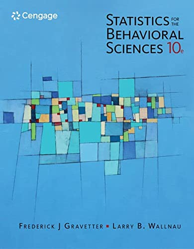 9781305504912: Statistics for The Behavioral Sciences (MindTap for Psychology)