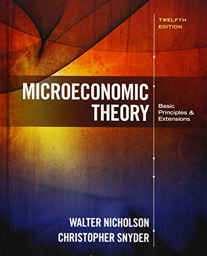 9781305505797: Microeconomic Theory: Basic Principles and Extensions