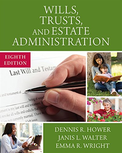 9781305506251: Wills, Trusts, and Estate Administration