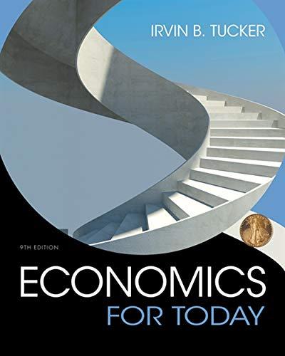 Economics For Today: Tucker, Irvin B.