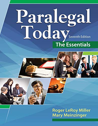 9781305508743: Paralegal Today: The Essentials