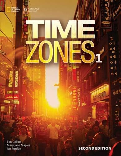 9781305509245: Time Zones 1 with Online Workbook (Time Zones Second Edition)