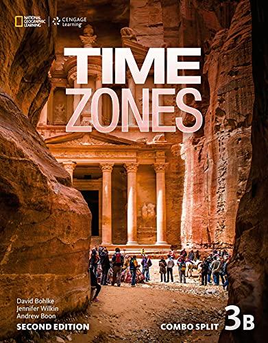 9781305510784: Time Zones 3b Combo Split & 3b Olwb Sticker Code