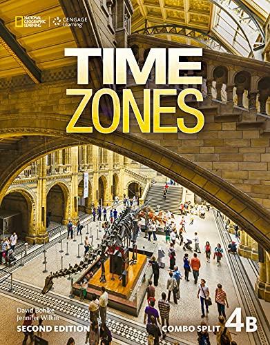 9781305510807: Time Zones 4b Combo Split & 4b Olwb Sticker Code