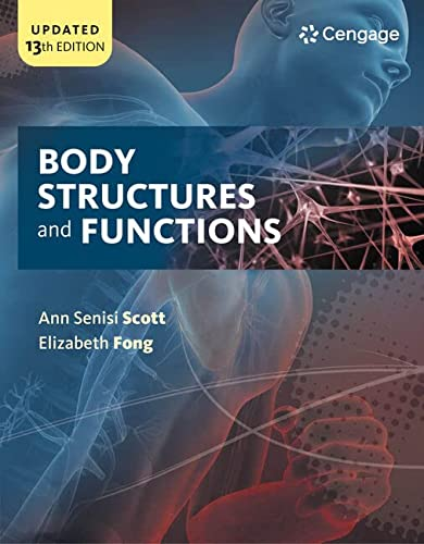 9781305511439: Workbook for Scott/Fong's Body Structures and Functions, 13th