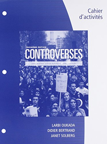 9781305515840: Bundle: Controverses, 3rd + Premium Web Site, 4 terms (24 months) Printed Access Card + Student Workbook