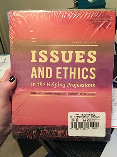 9781305518896: Bundle: Issues and Ethics in the Helping Professions with 2014 ACA Codes (With Coursemate Printed Access Card), 9th + Ethics in Action (With Workbook, DVD and Coursemate Printed Access Card), 3rd, 9th Edition