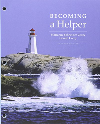 9781305522459: Bundle: Cengage Advantage Books: Becoming a Helper, Loose-leaf Version, 7th + MindTap Counseling, 1 term (6 months) Printed Access Card